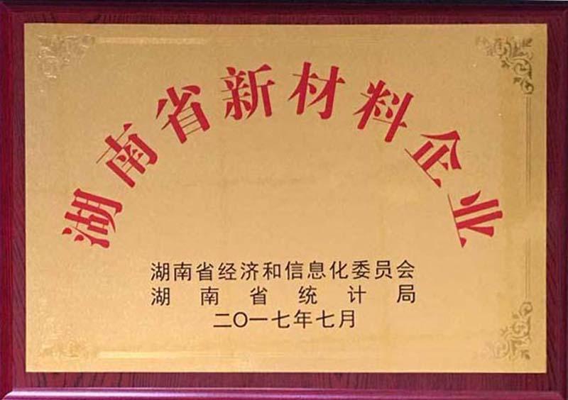 湖南省新材料企业
